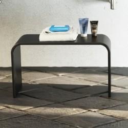 Panca per Ambiente Bagno 60x30 cm in Luxolid Finitura Lucida