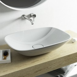 Lavabo a Libera installazione Soft - Medium in Luxolid