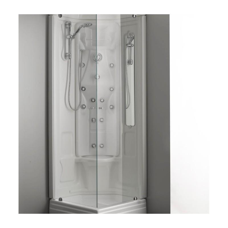 Cabina doccia idromassaggio 75x75 vendita online - Cabine doccia multifunzione prezzi ...
