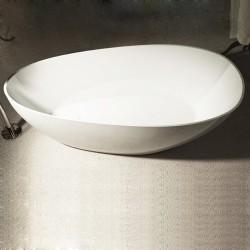 Vasca da bagno freestanding in luxolid 160x70,5 h63 a libera installazione