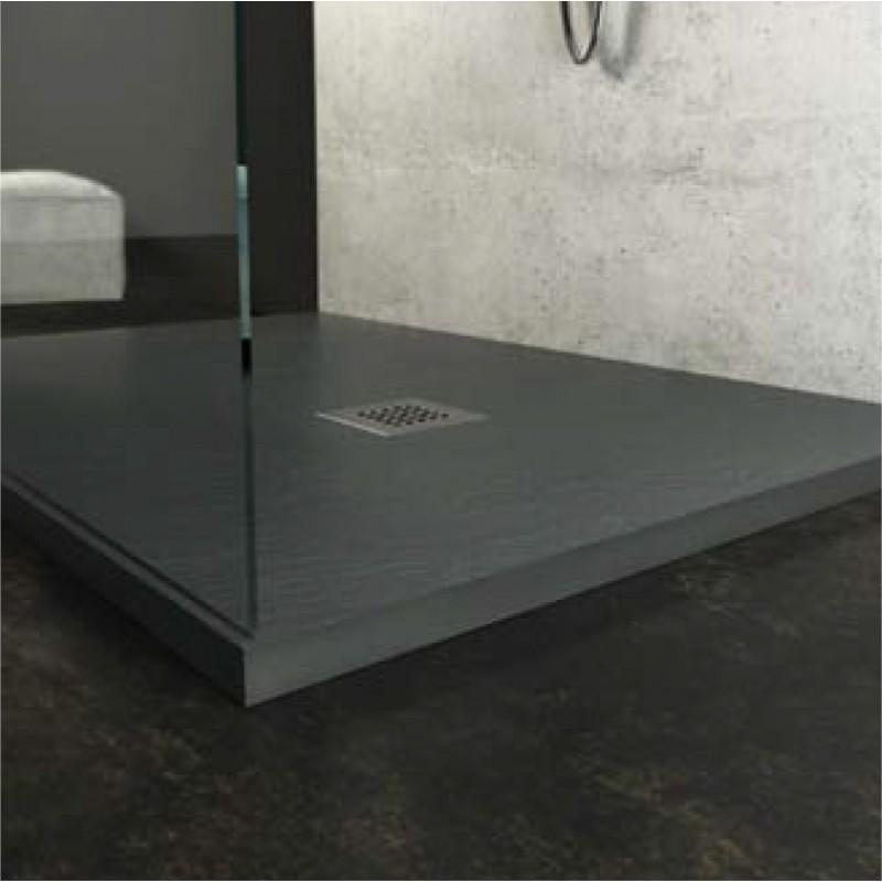 Piatto doccia in pietra sintetica ardesia 70x170 in - Piatto doccia pietra ...