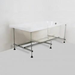 Telaio per vasca in Acciaio 120x70 cm