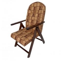 POLTRONA legno Campania Marrone sedia