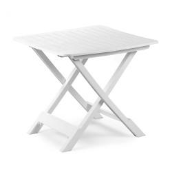 Tavolo TEVERE Pieghevole bianco 72x79cm PROGARDEN
