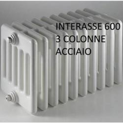 Radiatore in Acciaio Ercos Comby 3/600 h.592