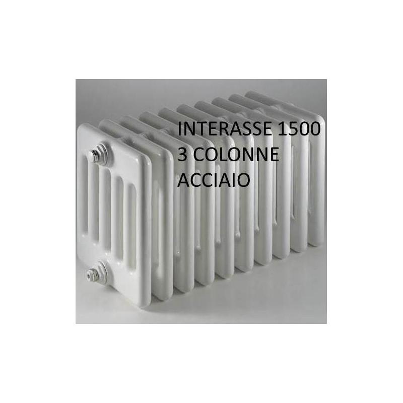 Radiatore multicolonna ercoscomby 3 1500 in acciaio a 3 for Ercos termosifoni
