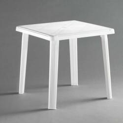 Tavolo resina RODI bianco 75x75cm IDEA