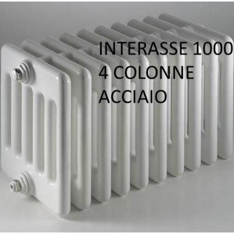 Radiatore multicolonna ercoscomby 4 1000 in acciaio a 4 for Ercos termosifoni