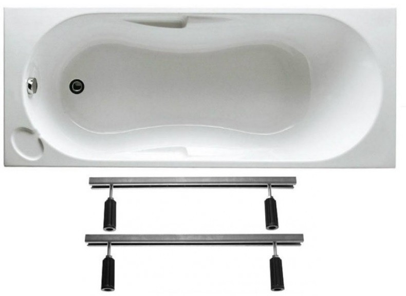 Vasca Jacuzzi 120x70 Cm Da Incasso In Vetroresina Completa Di Supporto Telaio Per Installazione Vendita Online Italiaboxdoccia
