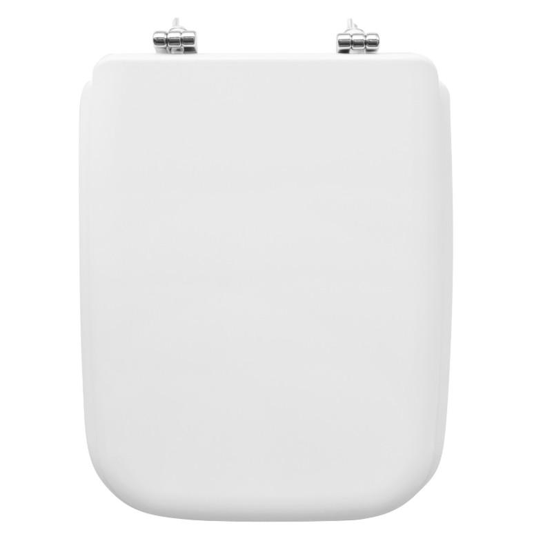 Sedile Wc Bianco Per Ideal Standard Vaso Conca Larghezza 34 Cm Cerniere Fisse Vendita Online Italiaboxdoccia