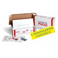 Kit completo Pucci Placca Bianca Telaio/Sportello per sostituzione placche sara già installate