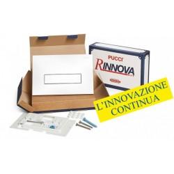Kit completo rinnova Pucci Placca Linea Bianca Telaio/Sportello per sostituzione placche sara già installate