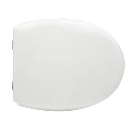 Sedile wc per Flaminia vaso Web con cerniere cromate regolabili