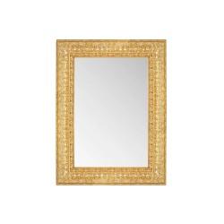 Su Misura Specchiera in oro anticato con cornice effetto intaglio