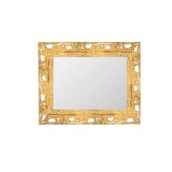 Su Misura Specchiera stile barocco in oro con cornice traforata