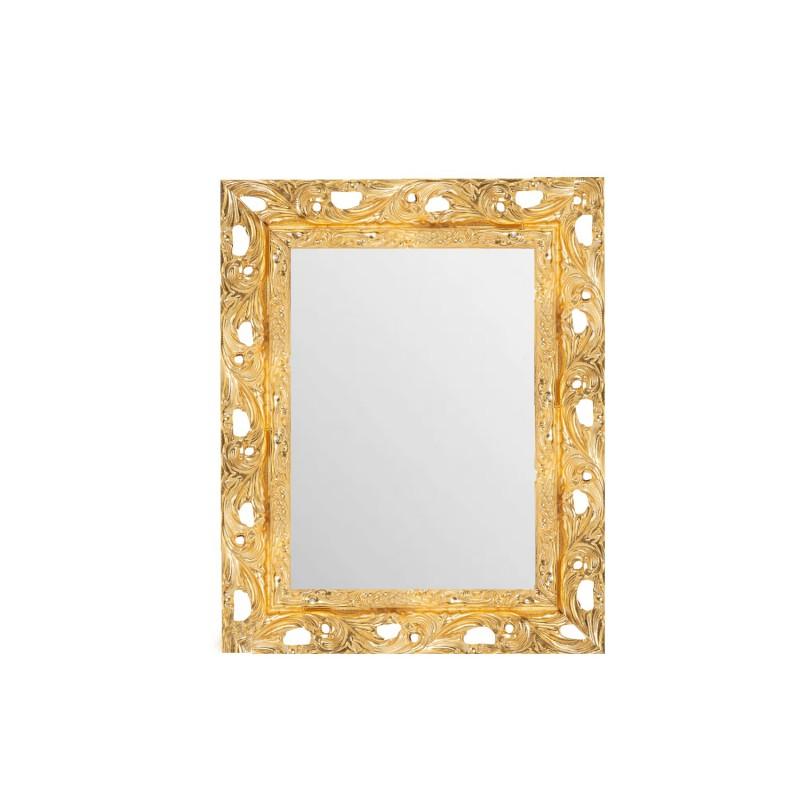 Su Misura Specchiera Stile Barocco In Oro Con Cornice Traforata Vendita Online Italiaboxdoccia