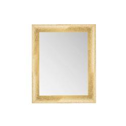 Su Misura Specchiera Moderna con cornice in oro brillantinato