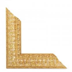 Su Misura Cornice in oro anticato ad effetto intaglio