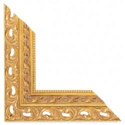 Su Misura Cornice traforata in oro stile barocco
