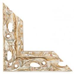 Su Misura Cornice traforata in argento stile barocco
