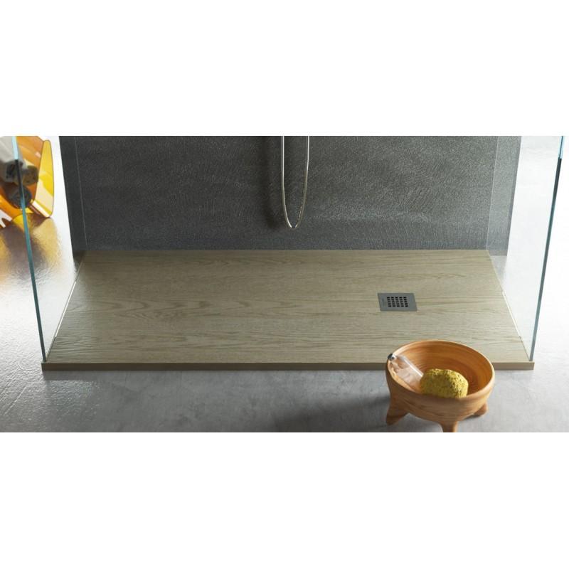 Piatto doccia in marmo resina effetto legno   vendita online ...