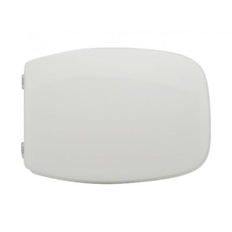 Sedile wc per Ceramica Cesame vaso Ionica con cerniere cromate regolabili