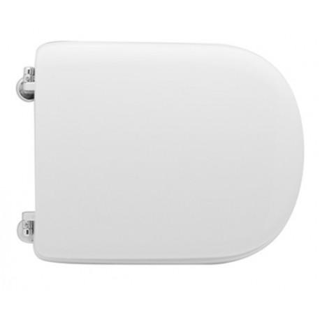 Sedile wc per Ceramica Catalano vaso Visa con cerniere cromate regolabili