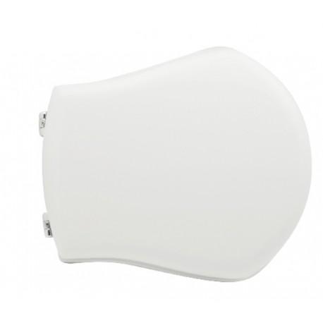 Sedile wc per Ceramica Axa vaso Smile con cerniere cromate regolabili