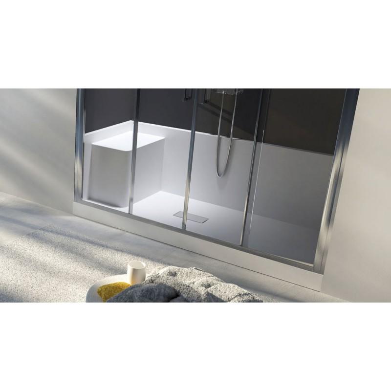 Box doccia da vasca a doccia vendita online italiaboxdoccia - Box doccia resina ...