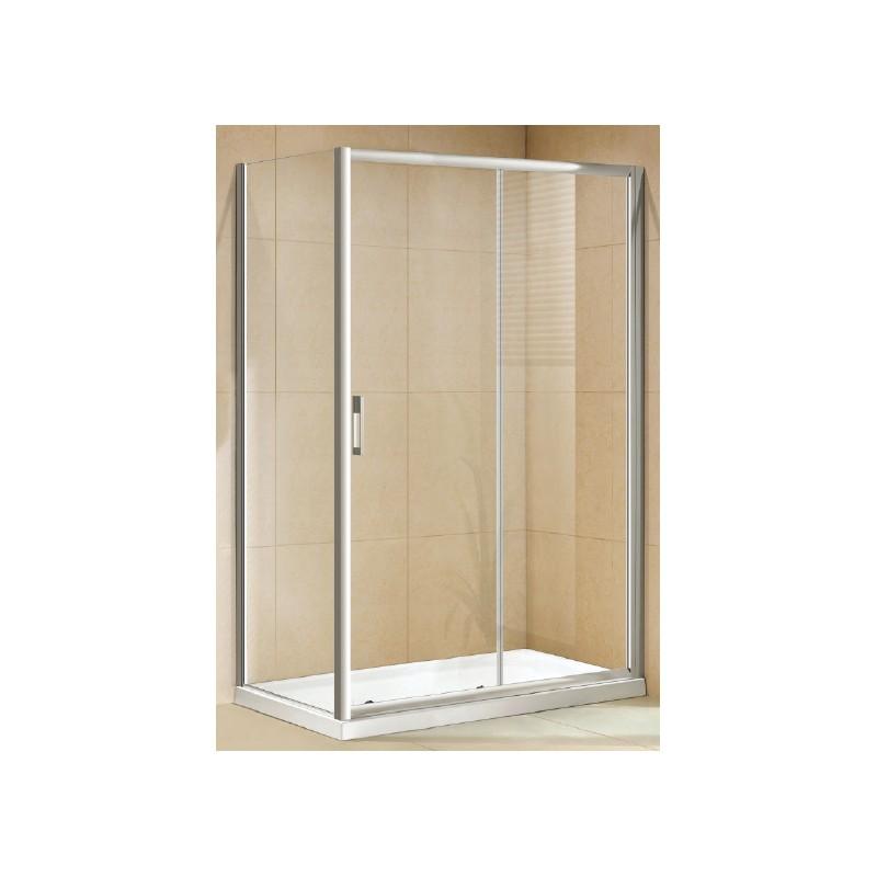 Box doccia scorrevole con parete fissa vendita for Box doccia scorrevole