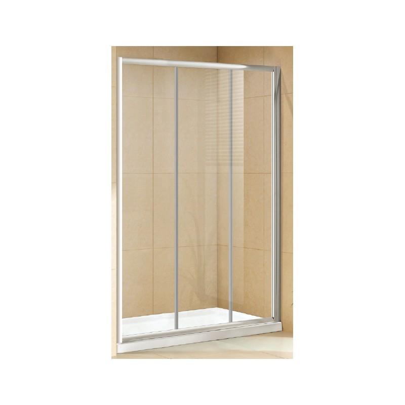 Box doccia per nicchia da 120 cm cristallo 6 mm vendita - Box doccia per sottotetto ...