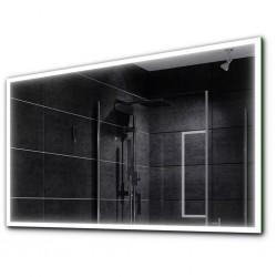 Su Misura Specchio da Bagno Filo Lucido e Cornice Sabbiata Retroilluminata led 24W art. spe02