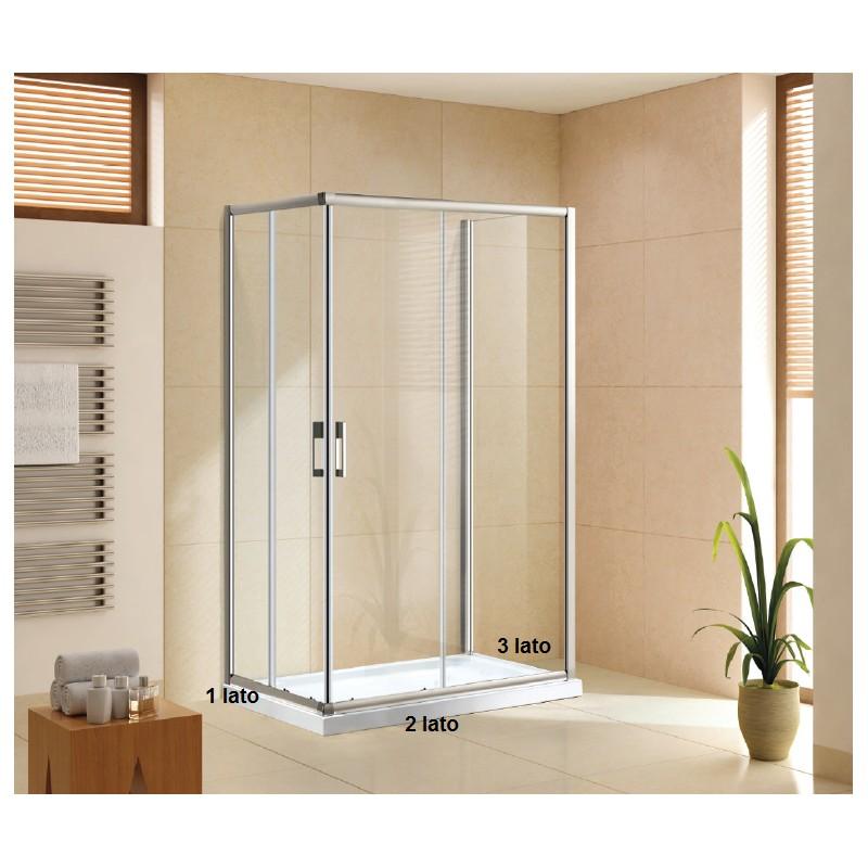 Doccia ad angolo in muratura lavabo ad angolo per bagni - Cabine doccia in muratura ...