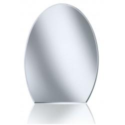 Unica Misura cm 60x45h Specchio da Bagno Filo Lucido
