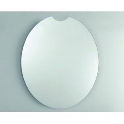 Unica Misura cm 60x70h Specchio da Bagno Filo Lucido a vetro molato 3 mm con telaio mod. Venere