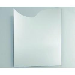 Unica Misura cm 60x70h Specchio da Bagno Filo Lucido a vetro molato 3 mm con telaio mod. Venere3