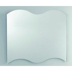 Unica Misura cm 60x70h Specchio da Bagno Filo Lucido a vetro molato 3 mm con telaio mod. Venere4