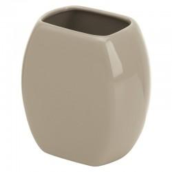 Porta spazzolino In Ceramica Tortora