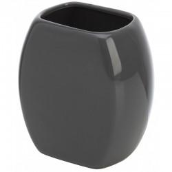 Porta spazzolino In Ceramica Grigio