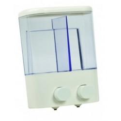 Distributore dispenser 1000 ml per sapone liquido o disinfettante per hotel o locali pubblici