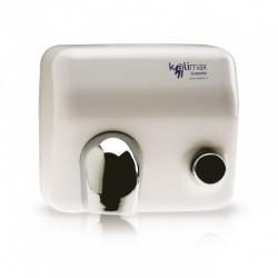 Asciugamani elettrico ad aria calda con pulsante in acciaio Aspira Kalimax 25P