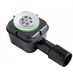 Piletta sifonata per piatto doccia con scarico ø40-50 mm a saldare o innestare mod. Splash di Bonomini