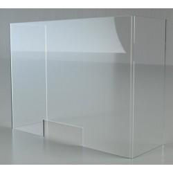Barriera protettiva da 5 mm in plexiglass