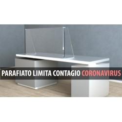 Parafiato Limita Contagio da Coronavirus di 5 mm in plexiglass