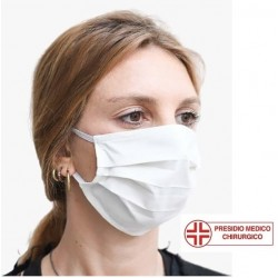 Mascherina di protezione in TNT a due strati ad uso medico di tipo I