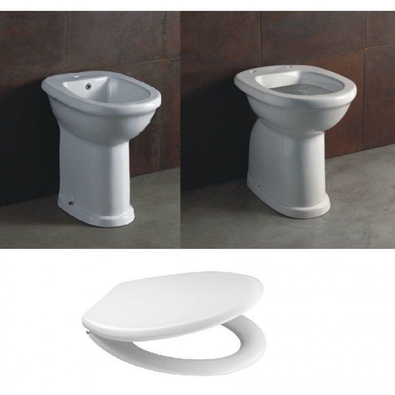 Alice ceramica vaso e bidet per anziani serie confort for Vaso per disabili