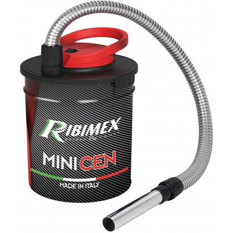 RIBIMEX prcen011 Aspiracenere Elettrico Minicen, 800 W, 10 L