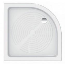 Piatto doccia Azzurra angolare 80x80 in ceramica antiscivolo