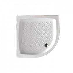 Piatto doccia Althea angolare 80x80 in ceramica antiscivolo
