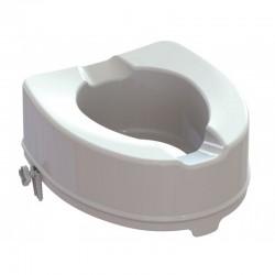 Rialzo per seduta wc in polipropilene bianco da 14 cm di altezza